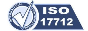 ISO 17712 certified security seals