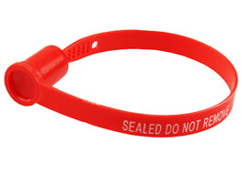 Strap Seal D2-M2 produced by Hoefon Security Seals