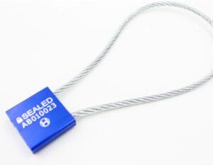 Aluminium Cable Seal CA-3.5A (30 CM / 3.5 MM) of Hoefon Securities Seals
