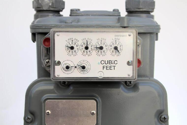 Gas meter seal by Hoefon Security Seals