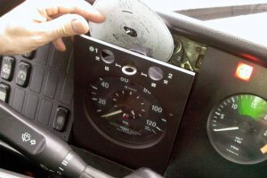 Tachograph security seals
