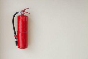 Tamper seals for fire extinguishers