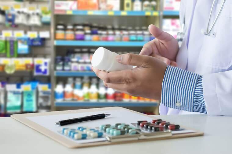 Pharmaceutical labels and healthcare seals