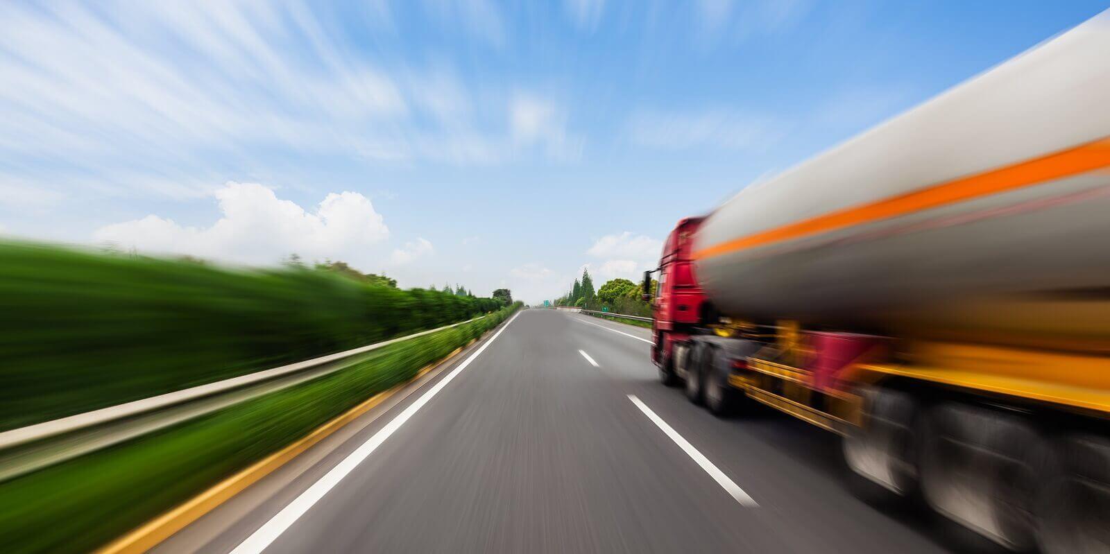 Tanker truck. Hoefon Security Seals produces seals for tanker trucks