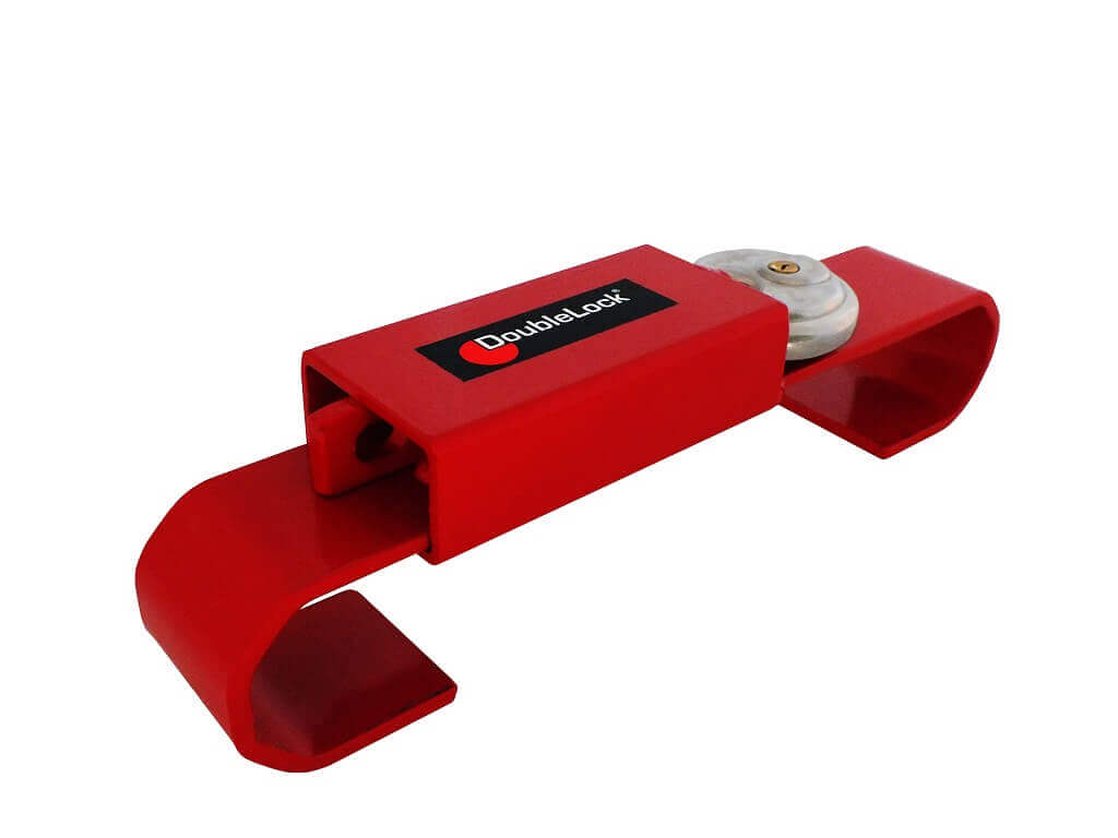 DoubleLock Container Lock JUNIOR RED-1