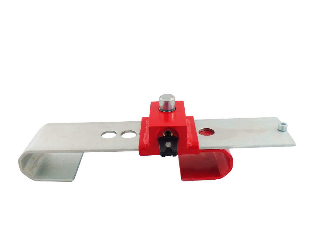 DoubleLock Container lock SCM red 1